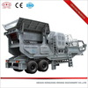 High efficiency recycling mobile crusher for concrete waste