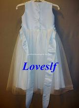 2014 Loveslf China manufacturer children garment/children clothes/clothing/The wedding dress
