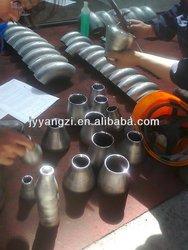 High pressure black steel pipe reducer