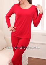 Fancy European Cheap Heated thermal underwear For Women wholesale