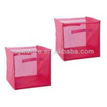 mesh storage hamper/pop up mesh laundry hamper/bolt mesh folding storage bins