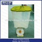 2014 Customize PP wholesale ballot box large unfinished wooden box