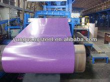Pre coat color steel sheet metal/ppgi steel sheet