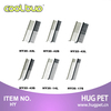 Metal pet grooming comb with stainless steel pins HY20-42L