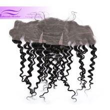 6A grade virgin human hair mongolian hair lace closure