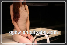 2014 graceful ivory sleeveless bandage cocktail dress for party,dinner,wedding,annual meeting