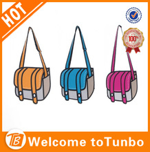 2014 wholesale cross body oxford travel cartoon bag manufacturer