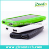 External solar mobile charger for travelling and hiking