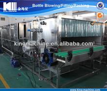 Bottle cooler and warmer machine on filling line