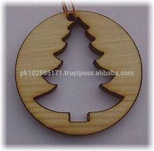 Christmas Tree Wide, Laser Cut