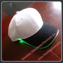 LED glowing flashing sports cap