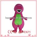 hi ce de alta calidad top venta traje de mascota barney