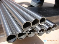 Rolled welded titanium alloy tube for bicycle frame