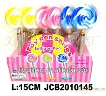 office&school ballpoint pen of lollipop design