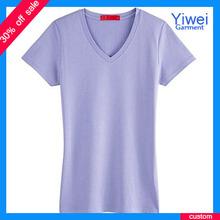 Latest Design Blank Plain Womens T Shirt Manufacturers Cotton T Shirt