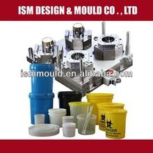 Different Volumes of Plastic Paint Bucket Mould /molde de balde