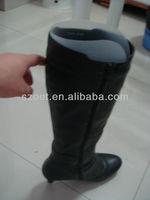 plastic boot inserts/boot shape insert/boot inserts