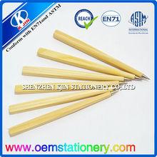 15.5cm promotional ball pen/advertising ball pen/wood ball pen