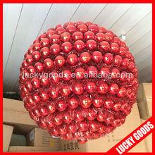40cm diameter shiny plastic giant christmas ornament ball decoration