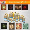 """2"""" inch-12"""" inch coldprofessional display shells multi color show for new year christmas party fireworks (T9500-2""""~12"""")"""