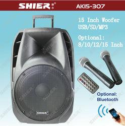 Latest trolly portable wireless multi-media loudspeaker for outdoor