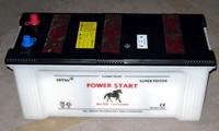 POWER START N150 150ah 12v dry charegd battery korean car battery