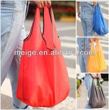 Manufacturing polyester bag/Portable reusable bags/reusable shopping bag folding polyester bag