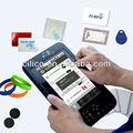 7 pulgadas android industrial de rfid de la nfc y tablet pc robusto de larga distancia 2-3m uhf caliente de la venta