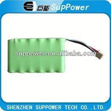 ni-mh aa 600mah 7.2v rechargeable battery nimh battery