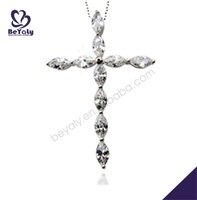 fashion costume jewely wholesale silver pendant claw