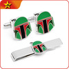 Custom cufflinks tie clips in china