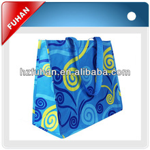 fancy quality recyclable laminated shopping bag