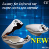Dry steam sauna spa far Infrared ray SPA equipment&SPA capsule for slimming equipment.SG-S011A