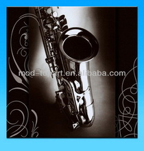 Classical instrument canvas printing for home decoration