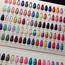made in japan high shine nail polish of 102 colors for nail salon