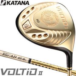 Katana Golf 2014 model VOLTIO II driver katana with Graphite design original tour AD shaft gold katana
