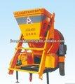 Auto- carga motordeautomóvil mezclador de hormigón de la máquina