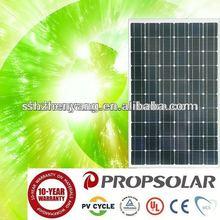 Good quality with 100% tuv standard aluminum solar panel frame 255w