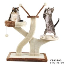 Eco-safe VIP Pet Carpet cat tree Cat Furniture Cat Toy-YS83283