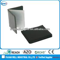 high quality custom leather belt clip card case