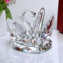 Promotion 2014 Shining Crystal Favor Swan For Wedding gift Souvenir