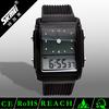 Lcd hands watch women branded wrist watch 30m water resistant & night light & stop & alarm clock & auto date