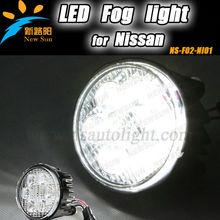 Hot sale white/yellow/golden durable N ISSAN front fog lamp for TIIDA X-Trail/Tidda LED fog light, Toyota led car fog light