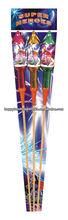 HF5008 SUPER HEROES bottle rocket fireworks for sale factory price