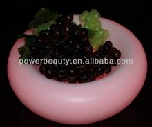 factory supply led illuminated fruit plate