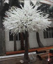 artificial plastic flowers / cheap plastic flower pots wholesale/plastic flower cherry blossom