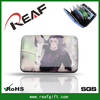 The funny monkey metal wallet clasps