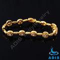 Mão de ouro pulseira cadeia, pulseira de ouro cadeia para meninas