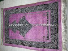 MA005 Fashion purple new 2014 Schnee muslim prayer mat