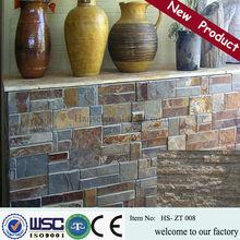 stone coated tiles/fossil stone tile/ledge stone tileHS- ZT008